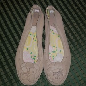 GAP SUEDE LEATHER BALLET FLATS SIZE 9